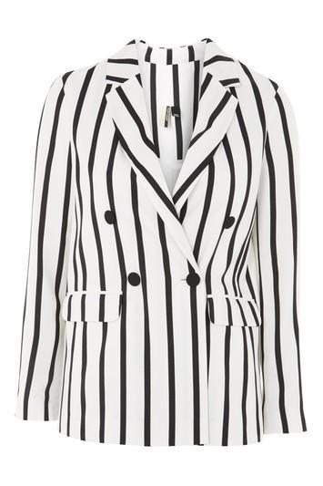 Topshop Humbug Stripe Jacket