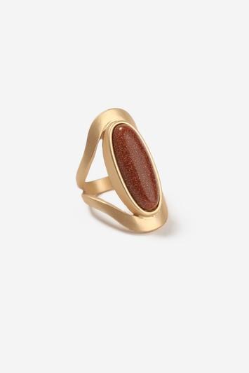 Topshop Statement Stone Ring