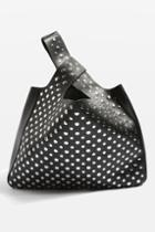 Topshop Studded Grab Shoulder Bag