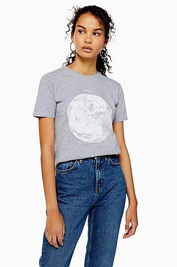 Topshop Big Moon T-shirt