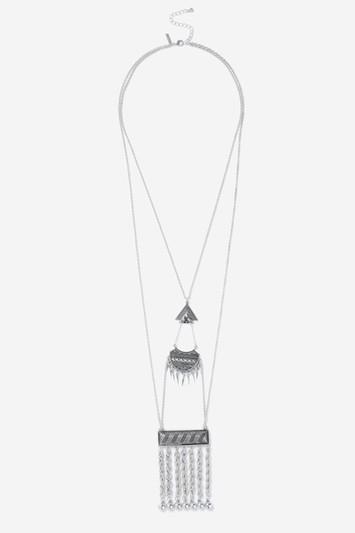 Topshop Ethnic Tassel Pendant Necklace