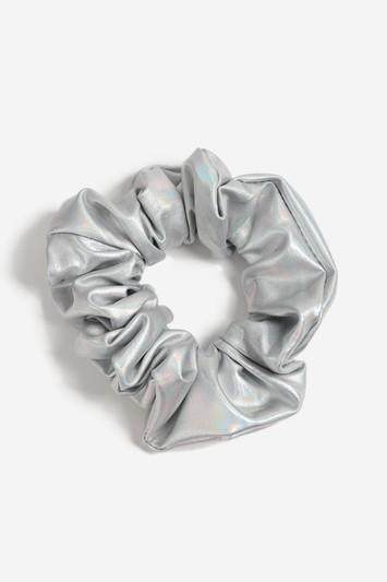 Topshop Metallic Hair Scrunchie