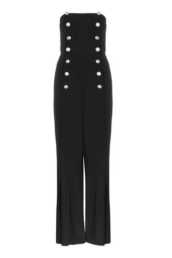 Topshop Mixed Button Jumpsuit