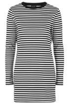 Topshop Striped Tunic Dress