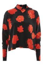 Topshop *neckerchief Blouse By Boutique