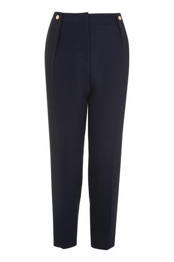 Topshop Petite Rivet Peg Trousers