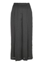 Topshop Petite Pinspot Cropped Trousers
