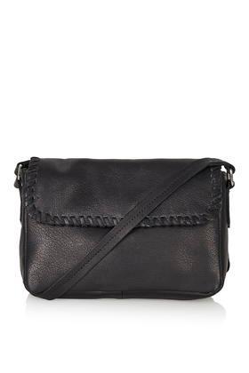 Topshop Mini Leather Crossbody Bag