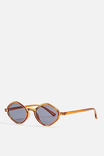 Topshop Diamond Sunglasses