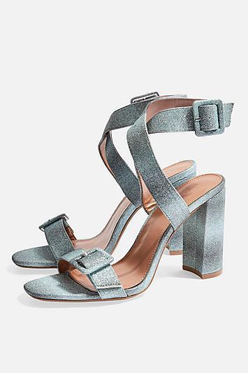 Topshop Sazzle Two Part Sandals