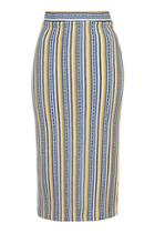 Topshop Striped Tube Skirt