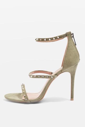 Topshop Madeline Three Strap Sandals