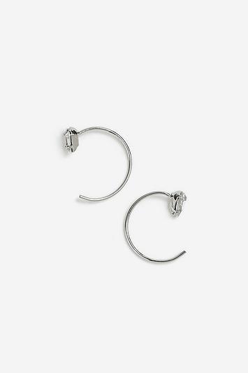 Topshop *freedom Finer Stone Earrings