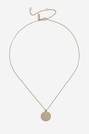 Topshop *pisces Constellation Ditsy Necklace