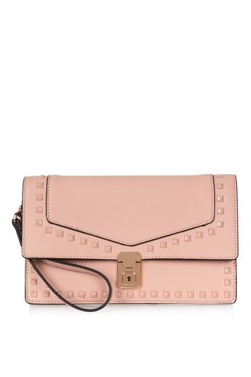 Topshop Caleb Studded Clutch