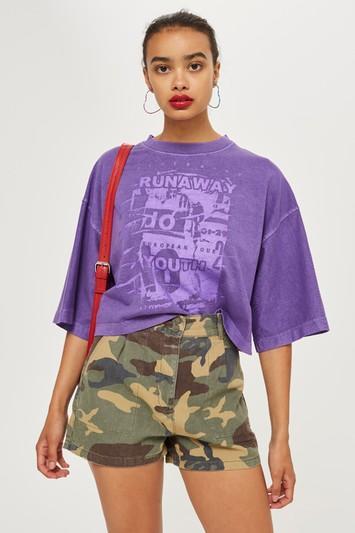 Topshop Runaway Youth T-shirt