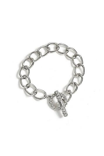 Topshop *chain T-bar Wristwear