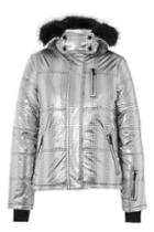 Topshop Silver Ski Puffer Jacket