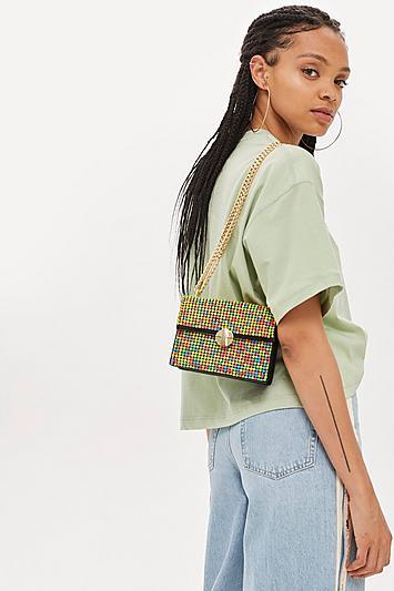 Topshop Gem Cross Body Bag
