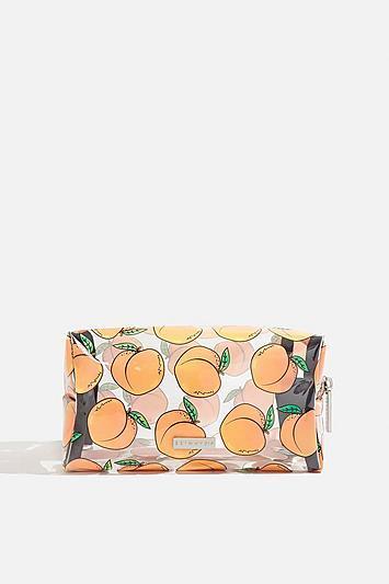 Topshop *peachy Make Up Bag By Skinny Dip