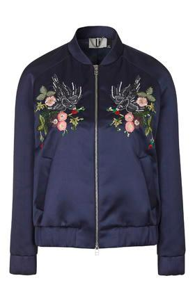 Topshop *ebury Bomber By Unique