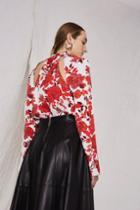 Topshop Floral Blouse By Boutique