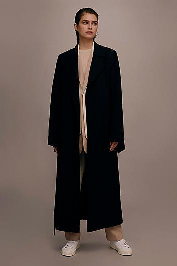 Topshop *wide Sleeve Duster Coat By Boutique