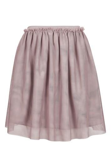 Topshop Petite Tulle Mini Skirt