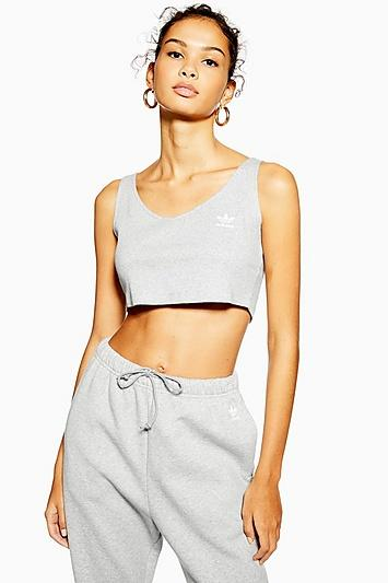 Cropped Tank Top By Adidas