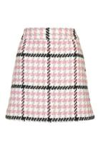 Topshop Check Mini Skirt
