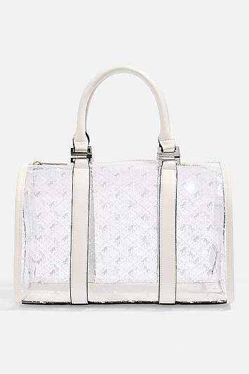 Topshop Madrid Medium Pu Bowler Bag