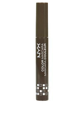 Topshop Nyx Cosmetics Coloured Mascara In Brown