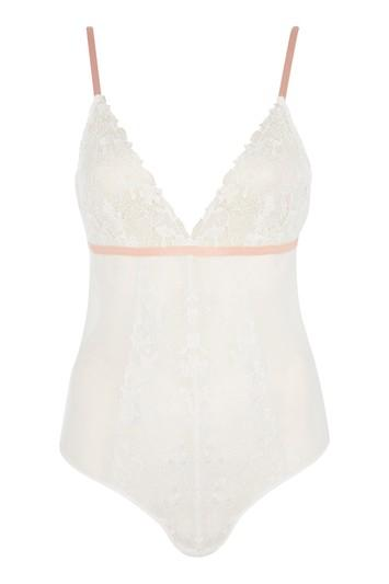 Topshop *lace Body By Topshop Bride