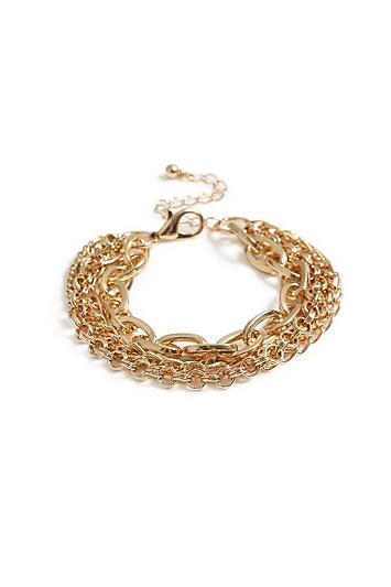 Topshop *multirow Chain Bracelet