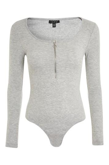 Topshop Long Sleeve Ring Pull Body