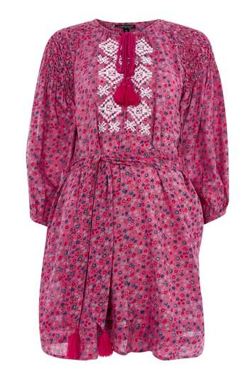 Topshop Ditsy Smock Dress