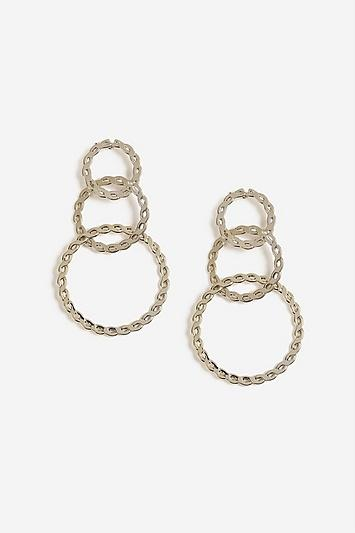 Topshop Twisted Link Drop Earrings