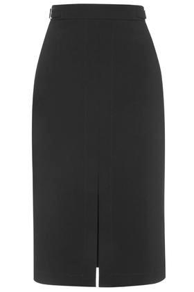 Topshop Split Pencil Skirt