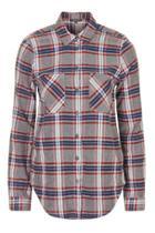 Topshop Tall Check Shirt