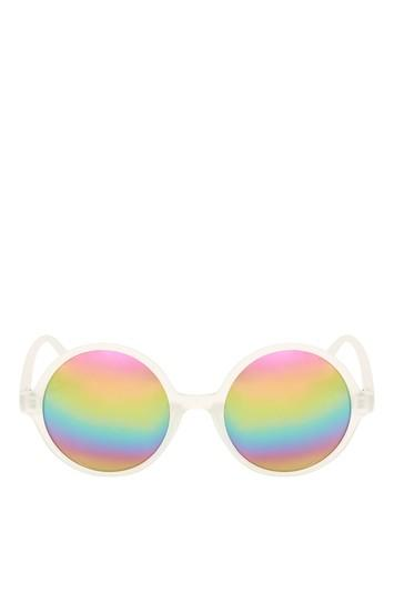 Topshop Lolly Rounds Sunglasses