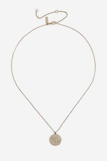 Topshop *sagittarius Constellation Ditsy Necklace
