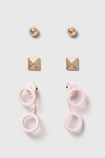 Topshop Circled Stud Earring Pack