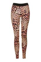 Topshop Leopard Print Leggings