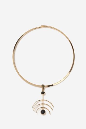 Topshop Branch Torc Necklace