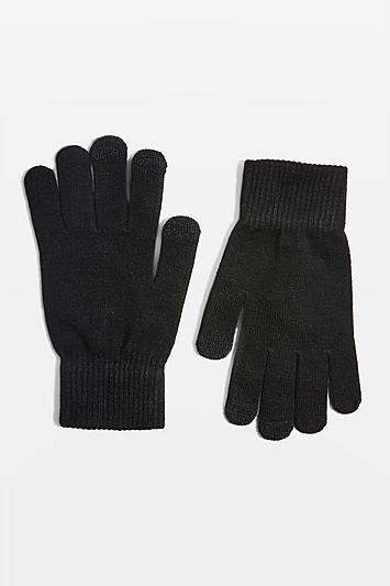 Topshop Touchscreen Knitted Gloves
