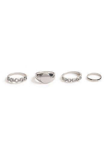 Topshop *urban Chain Multipack Rings