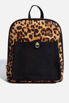 Skinny Dip *leopard Teardrop Backpack By Skinnydip