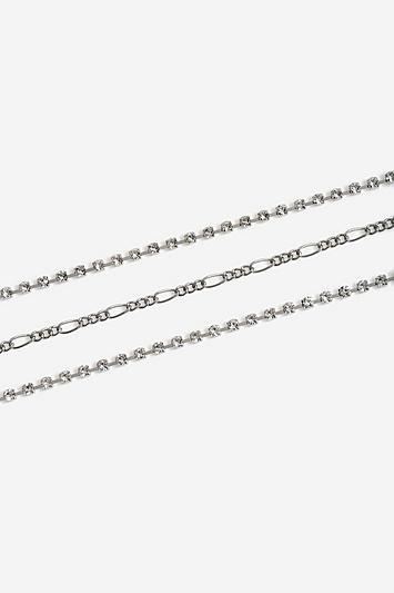 Topshop *pack Of 3 Crystal Bracelets