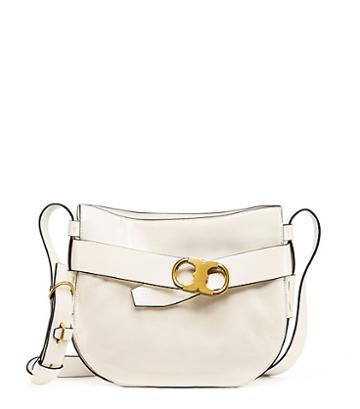 Tory Burch Gemini Link Patent Cross-body