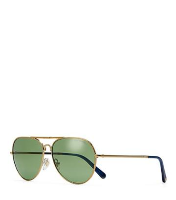 Tory Burch Foldable Pilot Sunglasses